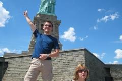 Да бъдеш на Статуята на свободата