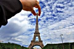 Хванах Айфеловата кула!!