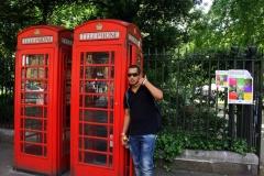 Прочутите телефонни кабинки в Лондон