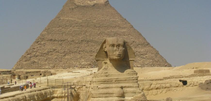 Голямата Пирамидата в Гиза