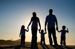 щастлив брак и семейство