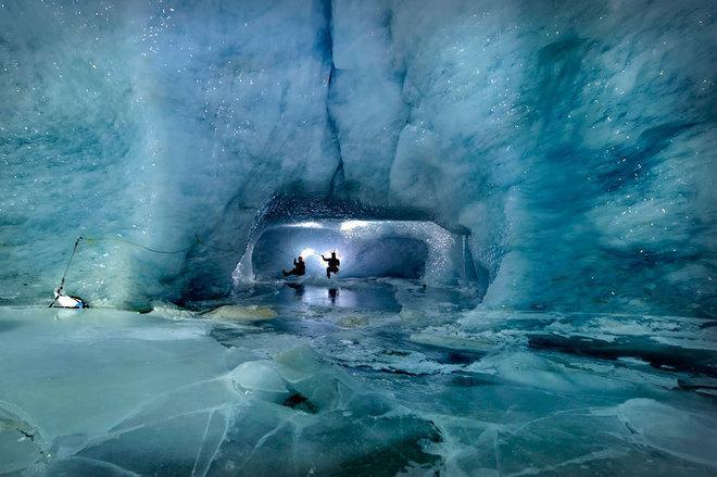 Ледените пещери